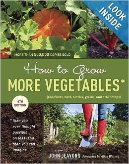 How to Grow More Vegetables book cover_