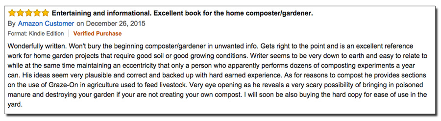 Compost Everything Amazon review