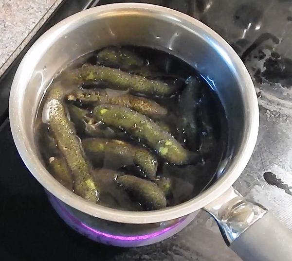 Cooking velvet beans