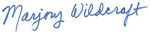 Marjory Wildcraft Signature