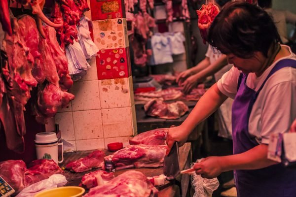 Antibiotics meat China