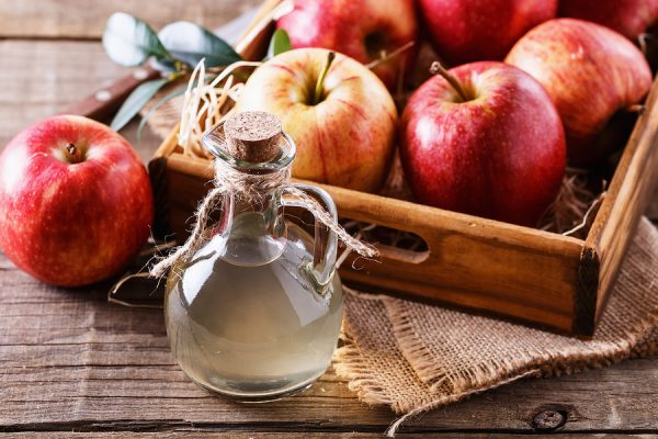Natural antibiotic alternative apple cider vinegar