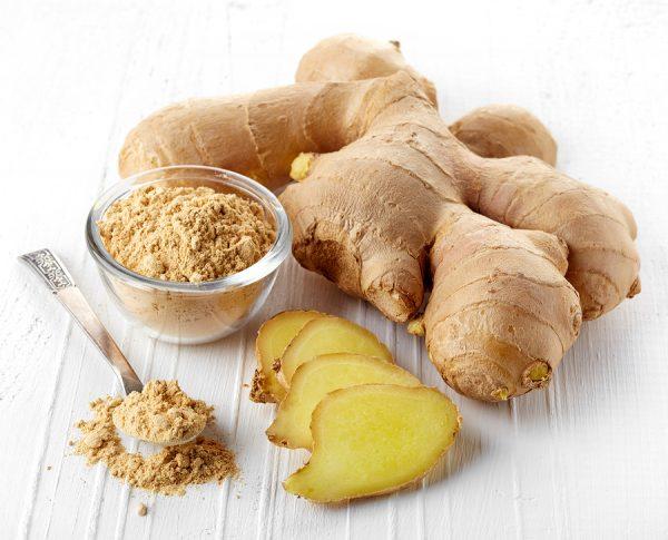 Natural antibiotic alternative ginger root