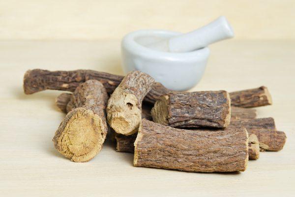 Natural antibiotic alternative licorice root