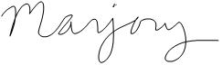 Majory's Signature