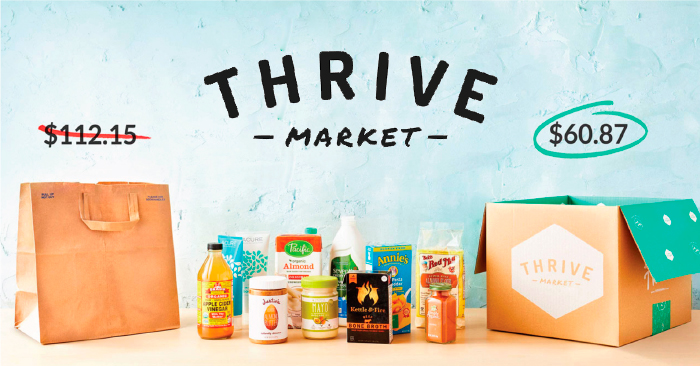 Thrive Market | Organic, Non-Gmo brands you love - for less!