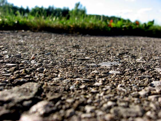 food security - blacktop asphalt